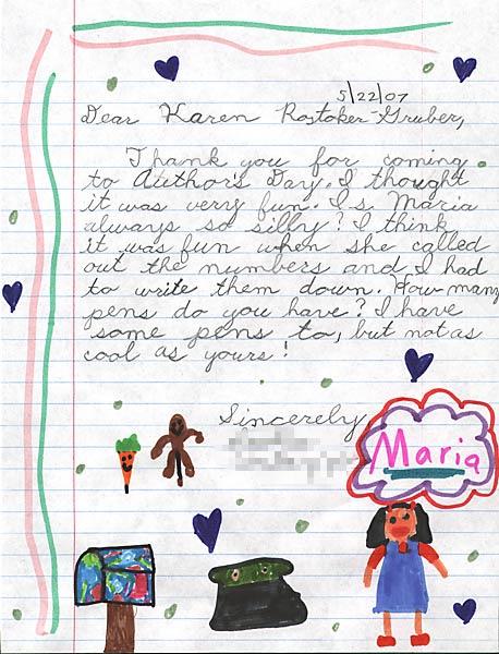Kids Ask The Author, Karen Rostoker-Gruber