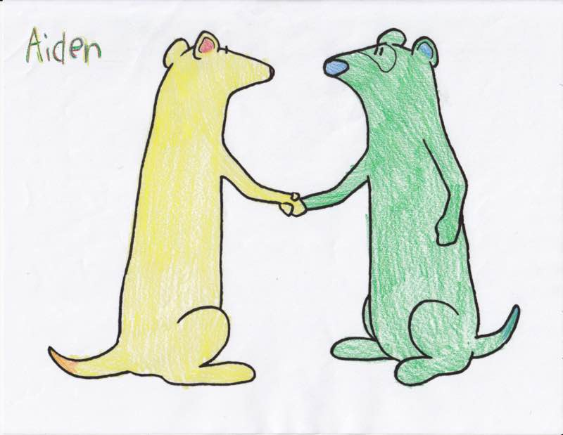 Ferret Fun Fan Art
