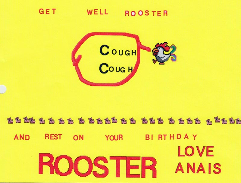 Rooster Can't Fan Art