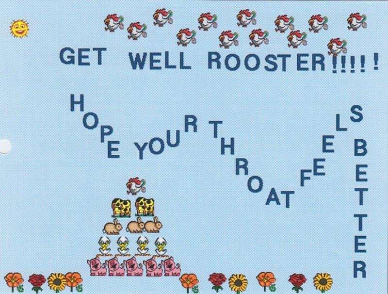 Rooster Can't Fan Letter