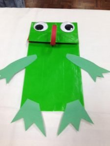 Make Your Own Frog Puppet
